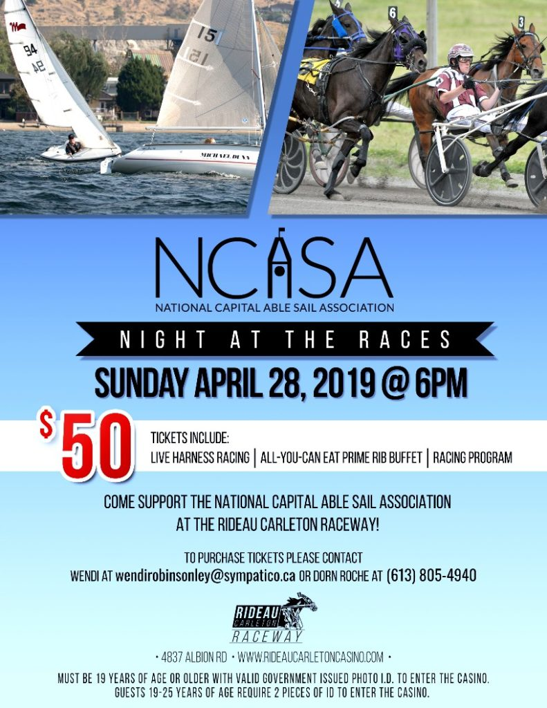 NCASA Night at the Races Poster 2019